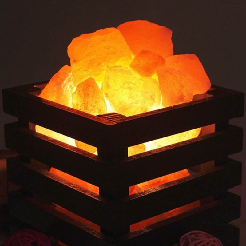 Himalayan Salt Modern Minimalist Crystal Rock Heating Wall Lamp