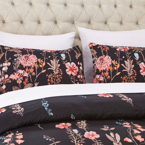 90gsm Brushed Microfiber Printed Duvet Cover set