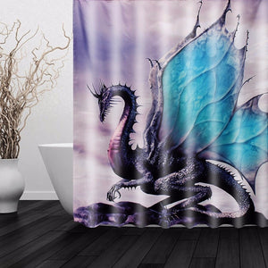 Classic Dragon Waterproof Curtain