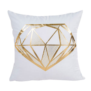 Gold Foil Printing Cushion Case, Timbaba Homes©