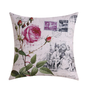 Perfect Gift retro living room decorative cushion cover