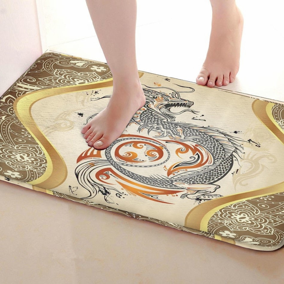DragonAnti-skid Bathroom, Kitchen Mat