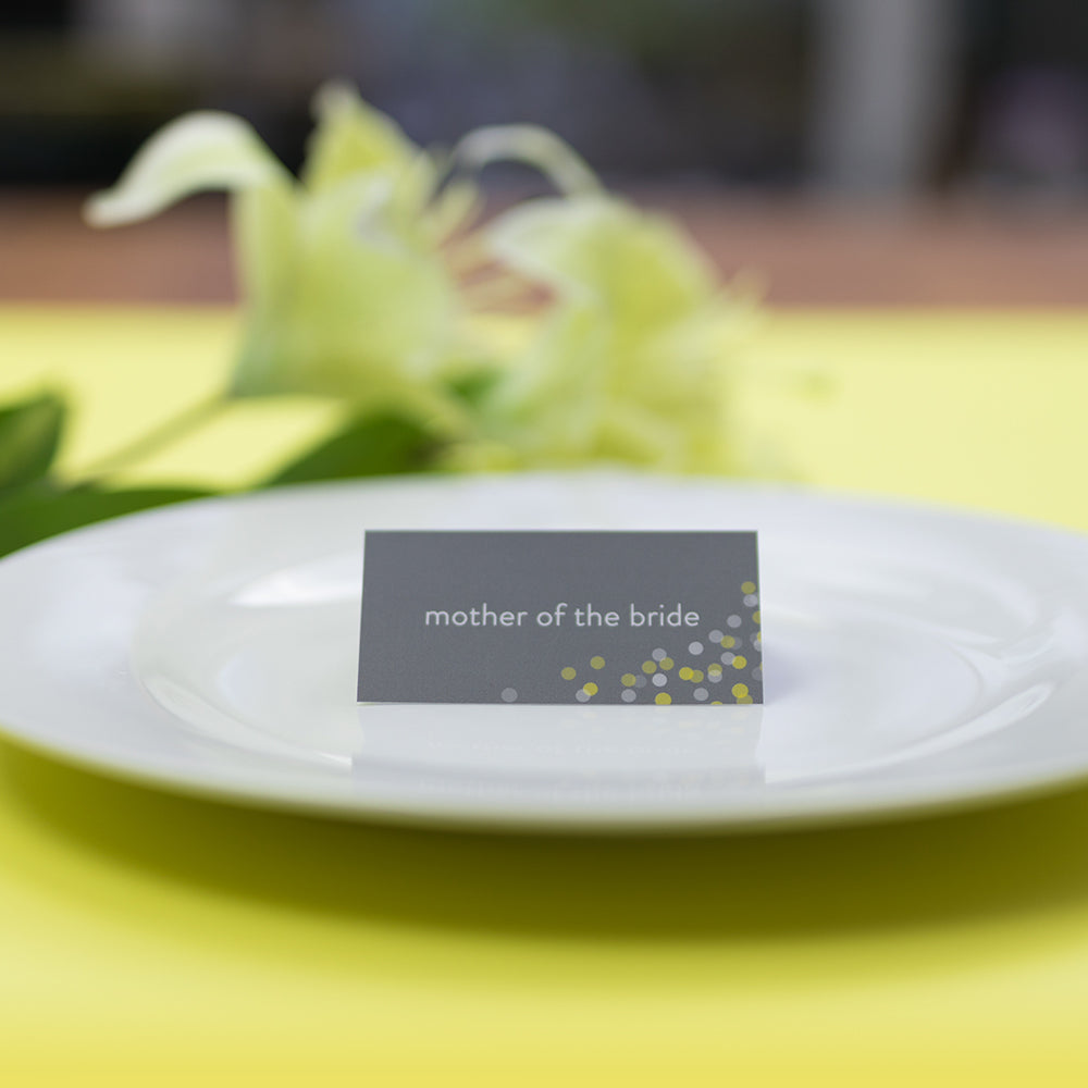 The Bokeh Collection Place Card
