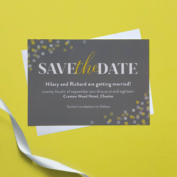 The Bokeh Collection Save the Date