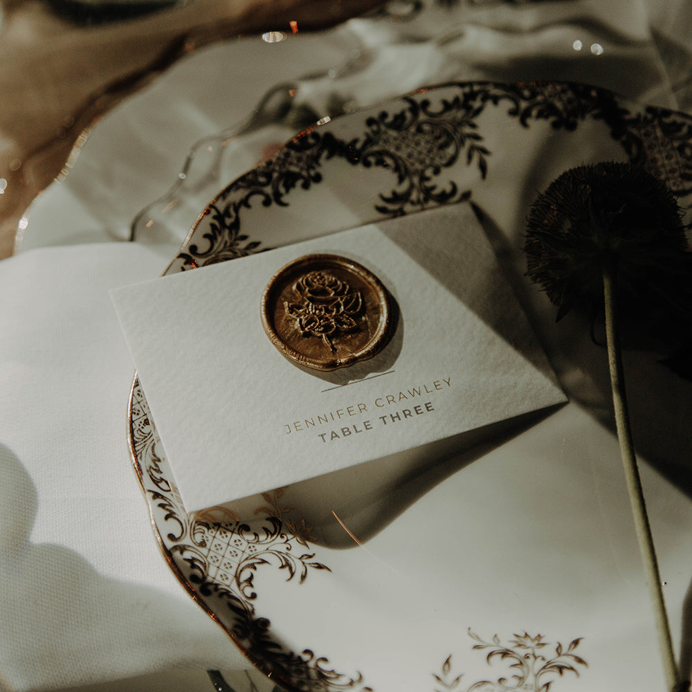 The Hampton Collection Place Card