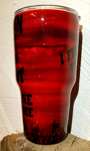 30 Ounce Firefighters Tumbler