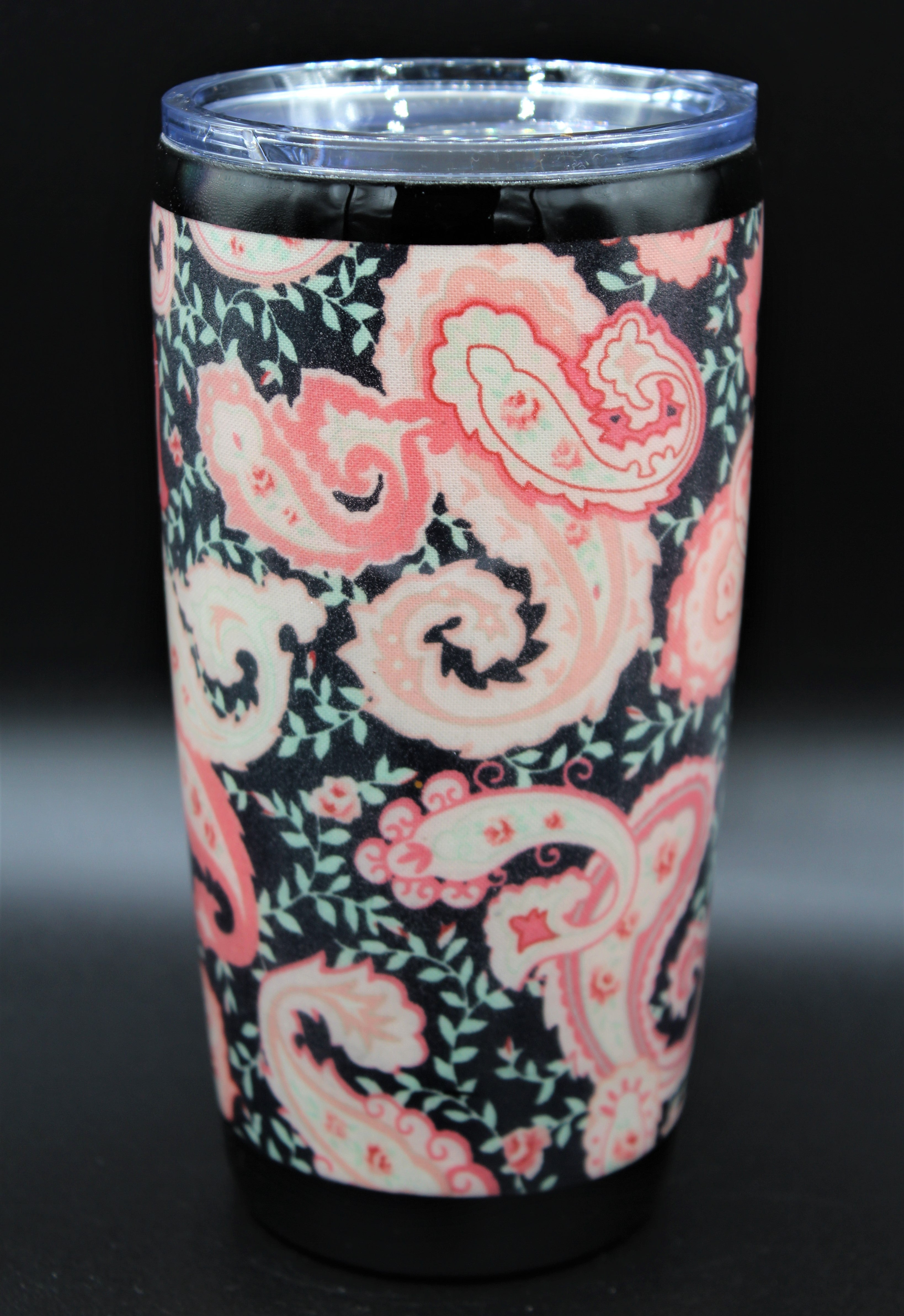 20 Ounce Pink Floral Paisley