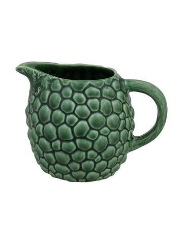 Bordallo Pinheiro Pitcher Grapes Green