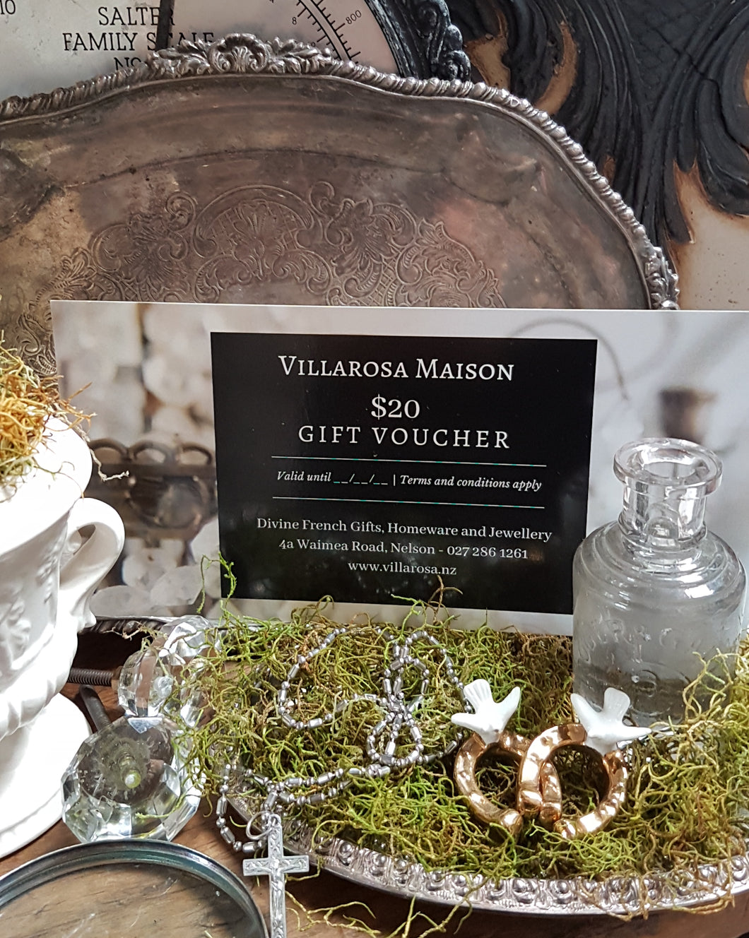 Villarosa Maison Gift Voucher - $20 Value