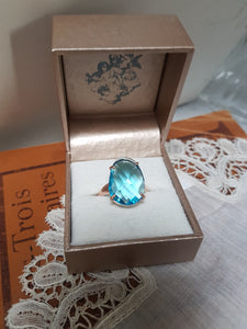 Simply Italian Crystal Ring