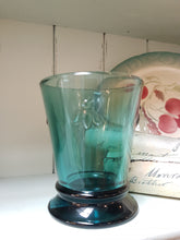 Load image into Gallery viewer, La Rochere Bee Blue Short Tumblers Set / 6