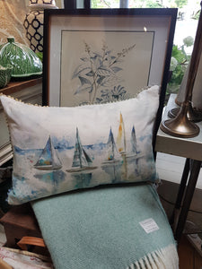 Marine Sail Cushion by Voyage Maison