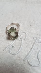 Green Amethyst Ring #2