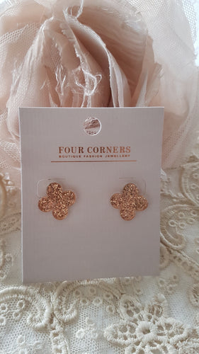 Flower Earrings by Four Corners