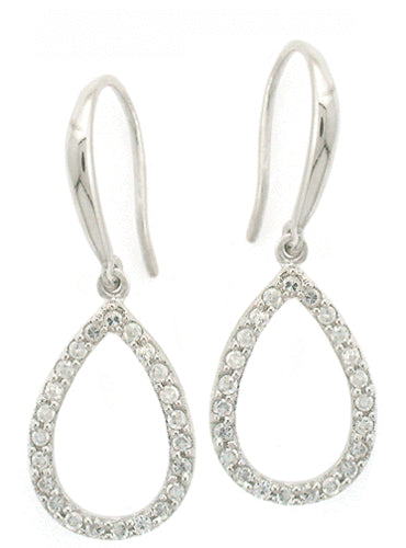 Simply Italian Teardrop Drop Earrings