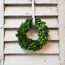 Load image into Gallery viewer, Preserved Boxwood Wreath (Small)
