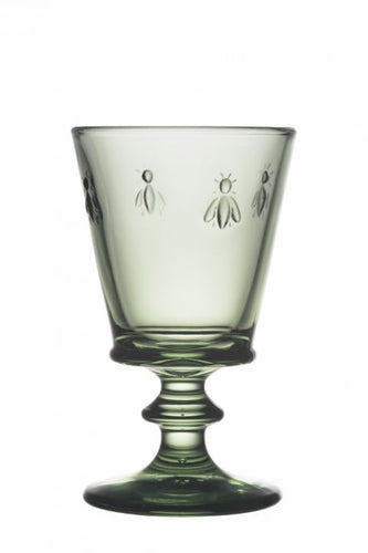 La Rochere Bee Light Green Wine Glass (Pair)