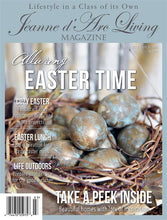Load image into Gallery viewer, Jeanne d'Arc Living Magazine - 3rd 'Easter' Issue 2019