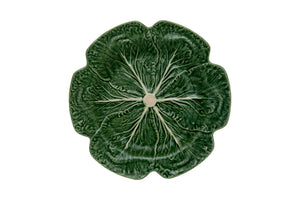 Bordallo Pinheiro Cabbage Charger Plate