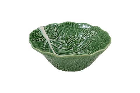 Bordallo Pinheiro Cabbage Deep Salad Bowl