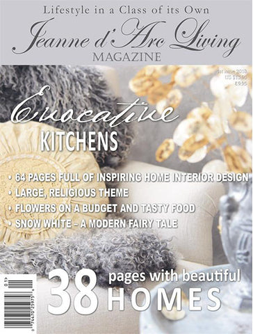 Jeanne d'Arc Living Magazine - 1st Issue 2018