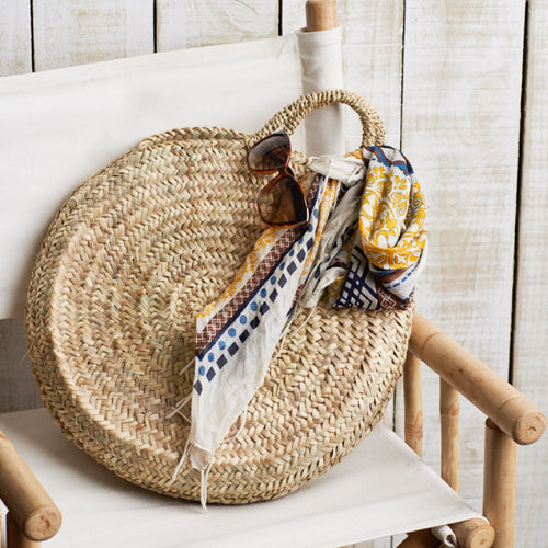 Marrakesh Round Basket