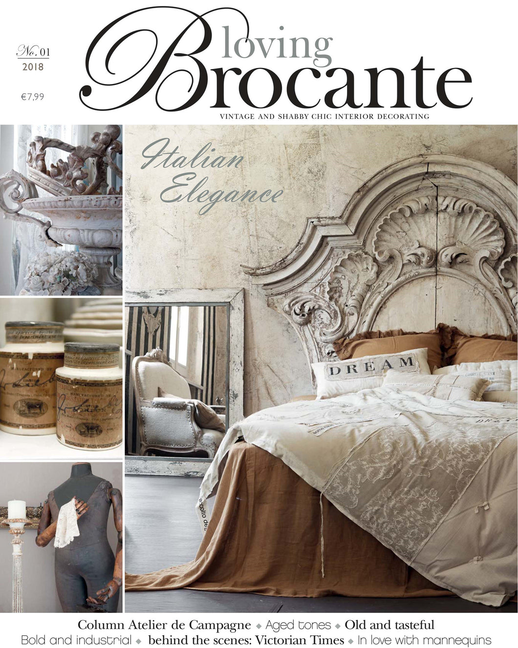 Loving Brocante Magazine No. 1 2018