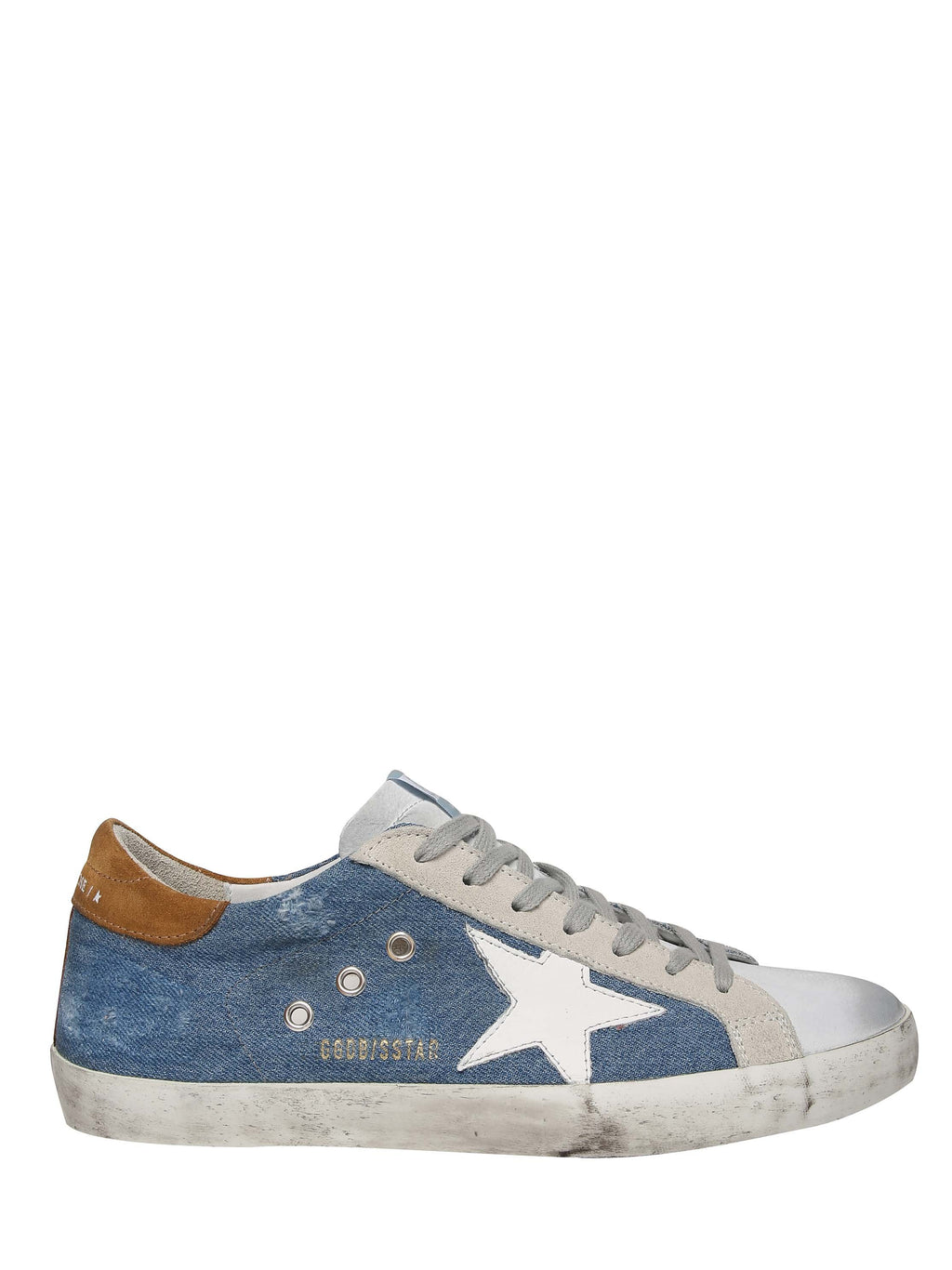 Super star denim sneakers