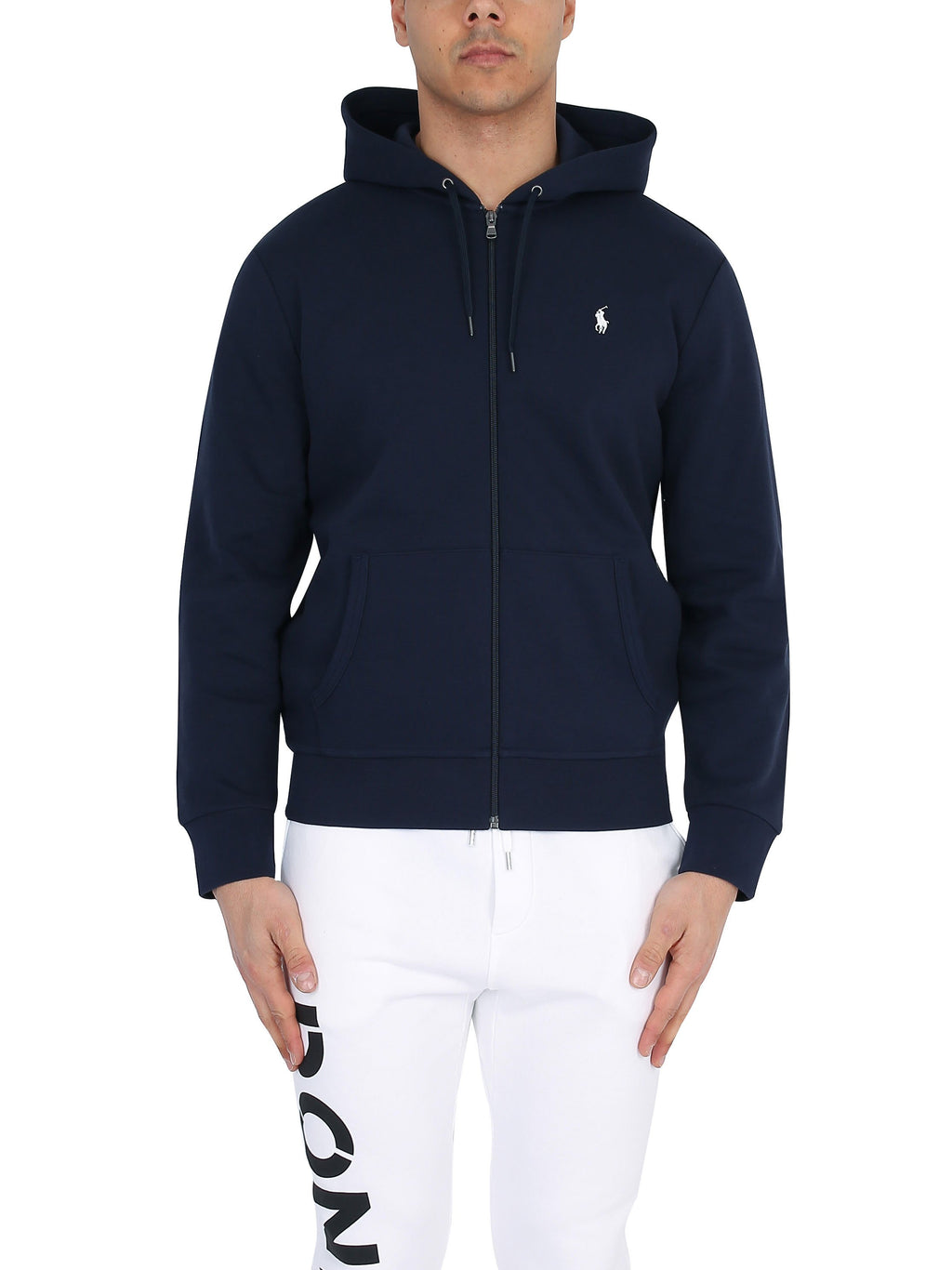 RALPH LAUREN Hoodie with embroidered logo