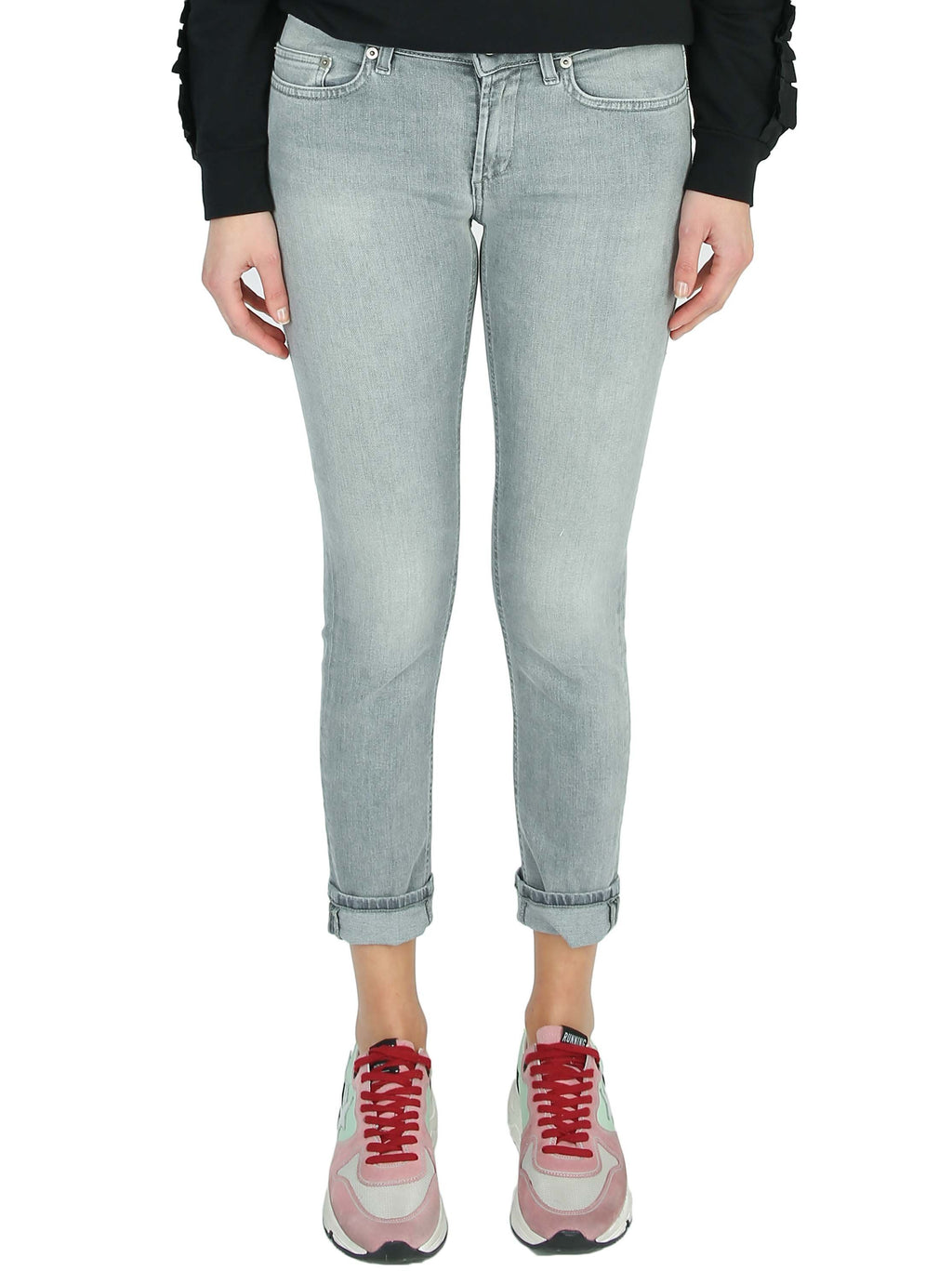 Monroe low-rise slim-fit jeans