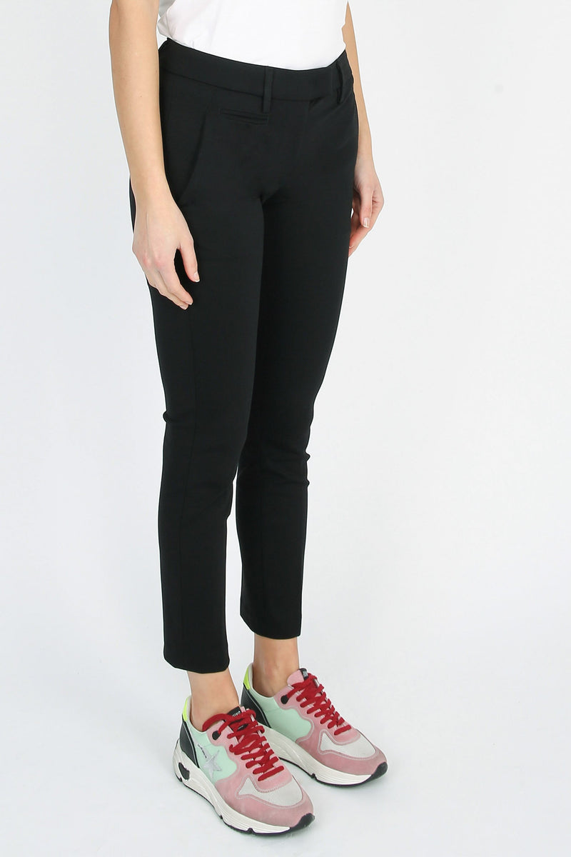 DONDUP Perfect model stretch cotton trousers
