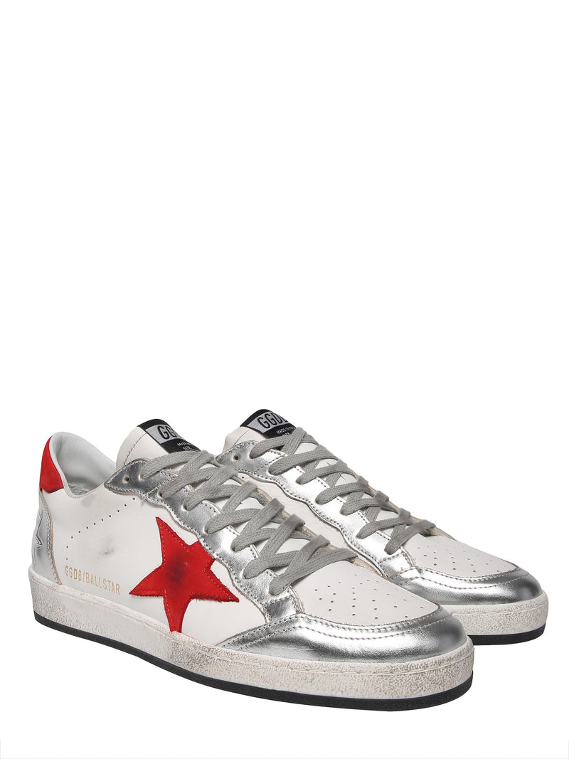 GOLDEN GOOSE Ballstar model leather sneakers