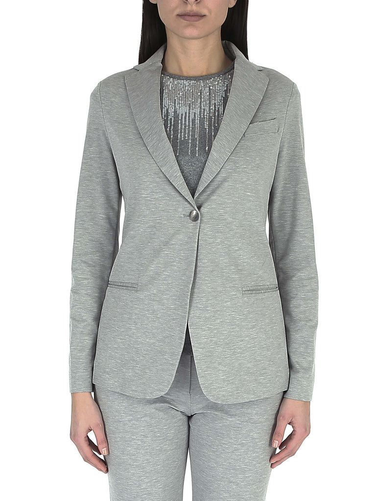 FABIANA FILIPPI Cotton jacket with central button