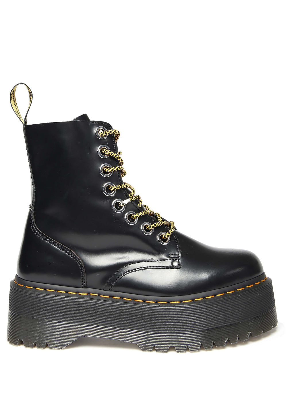 DR. MARTENS Jadon Max leather boots