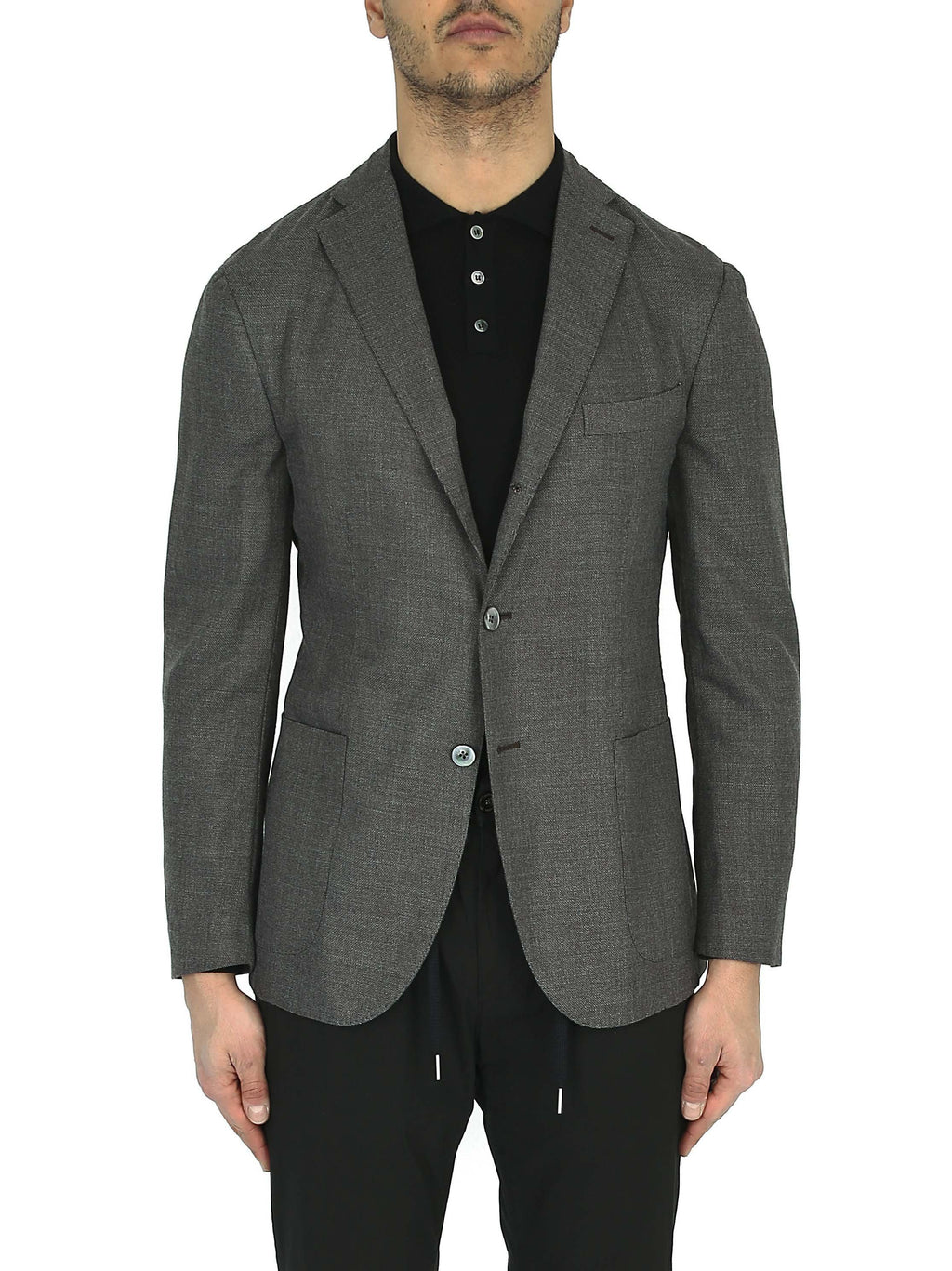 BOGLIOLI Single-breasted three-button blazer
