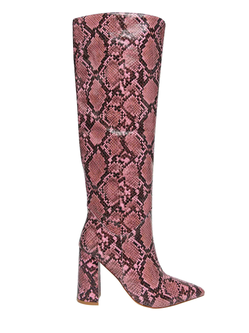 JEFFREY CAMPBELL Boot with animal print heel