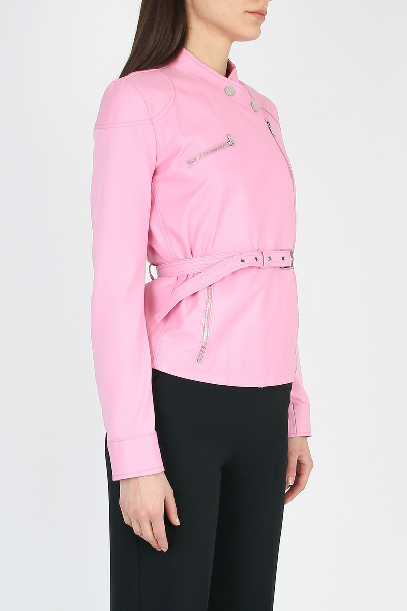 PINKO Trofie model leather jacket