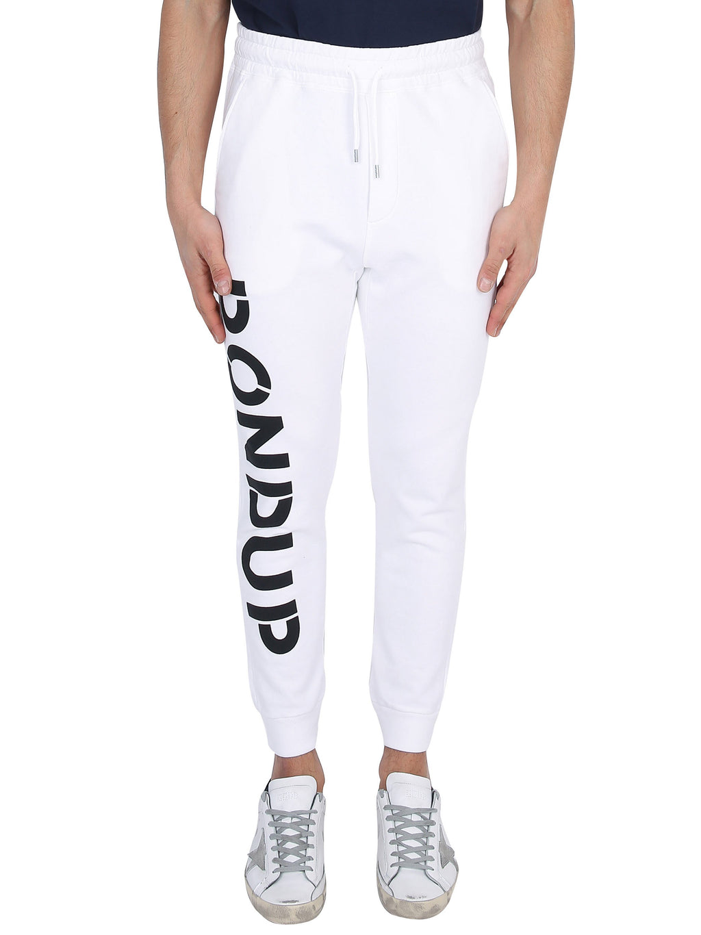 DONDUP Jogging trousers with printed logo