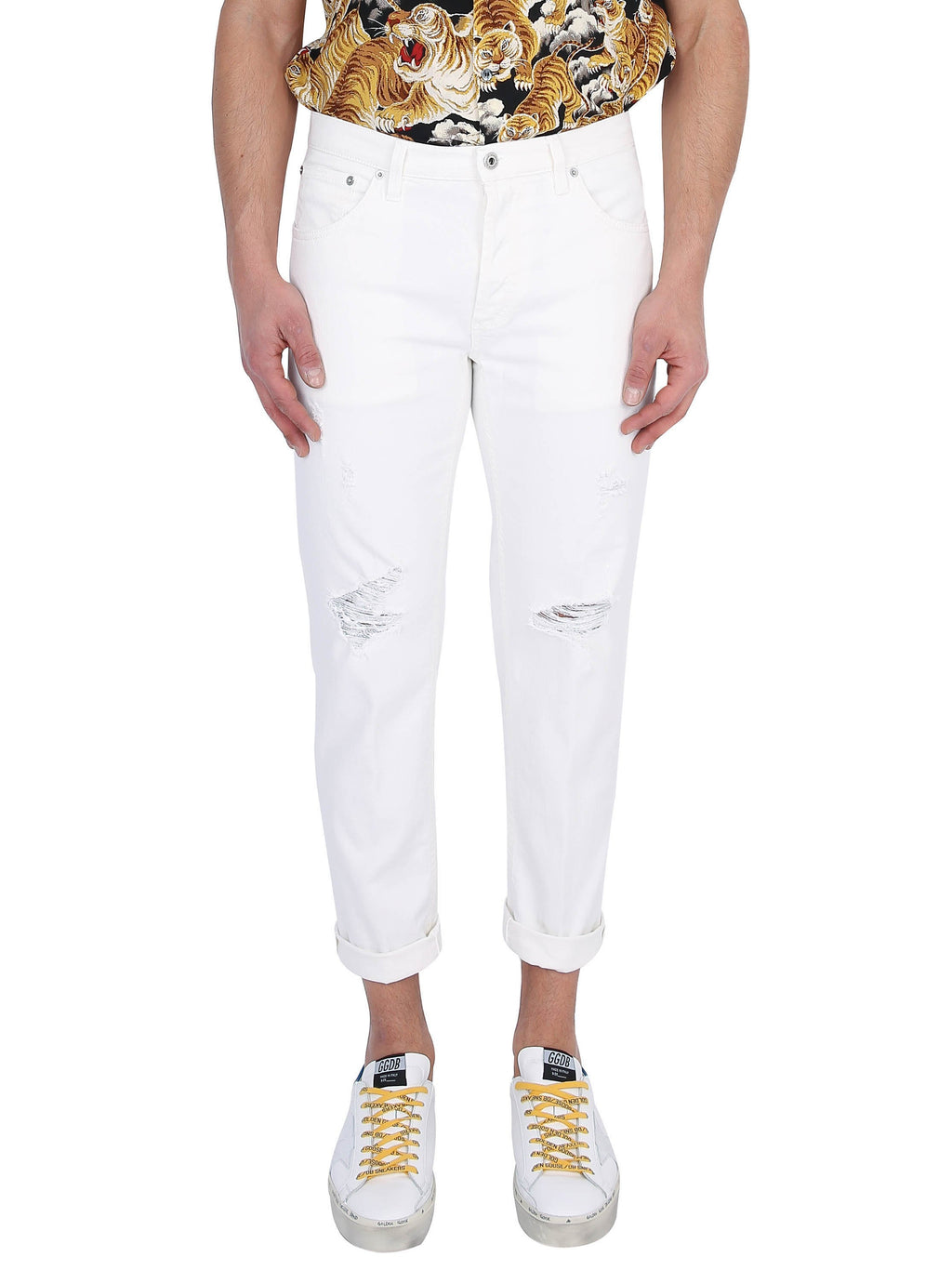 DONDUP Brighton model carrot fit jeans