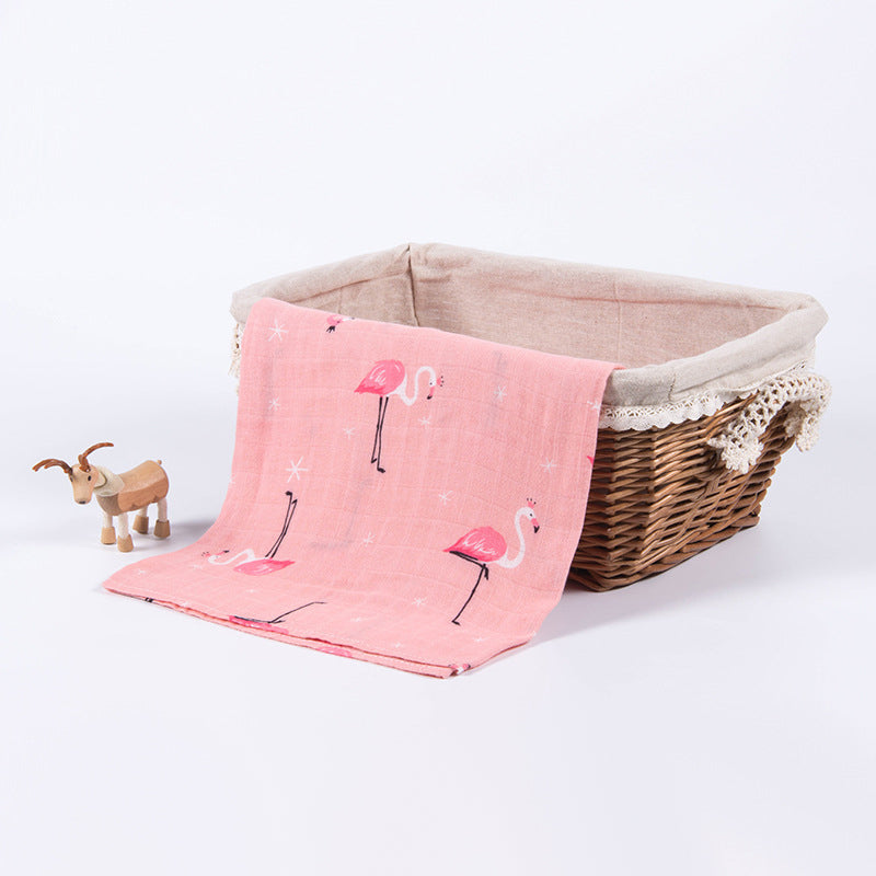 Flamingo - Snug As Baby Swaddle