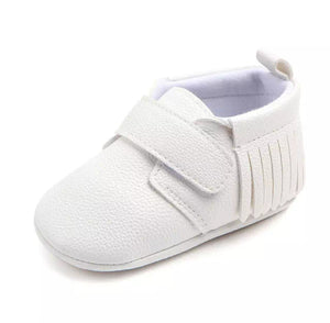 White Snug As Baby Shoes