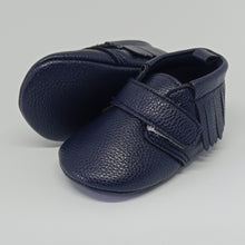 Load image into Gallery viewer, Navy Blue Snug As Baby Shoes