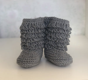 Grey Snug As Baby Boots