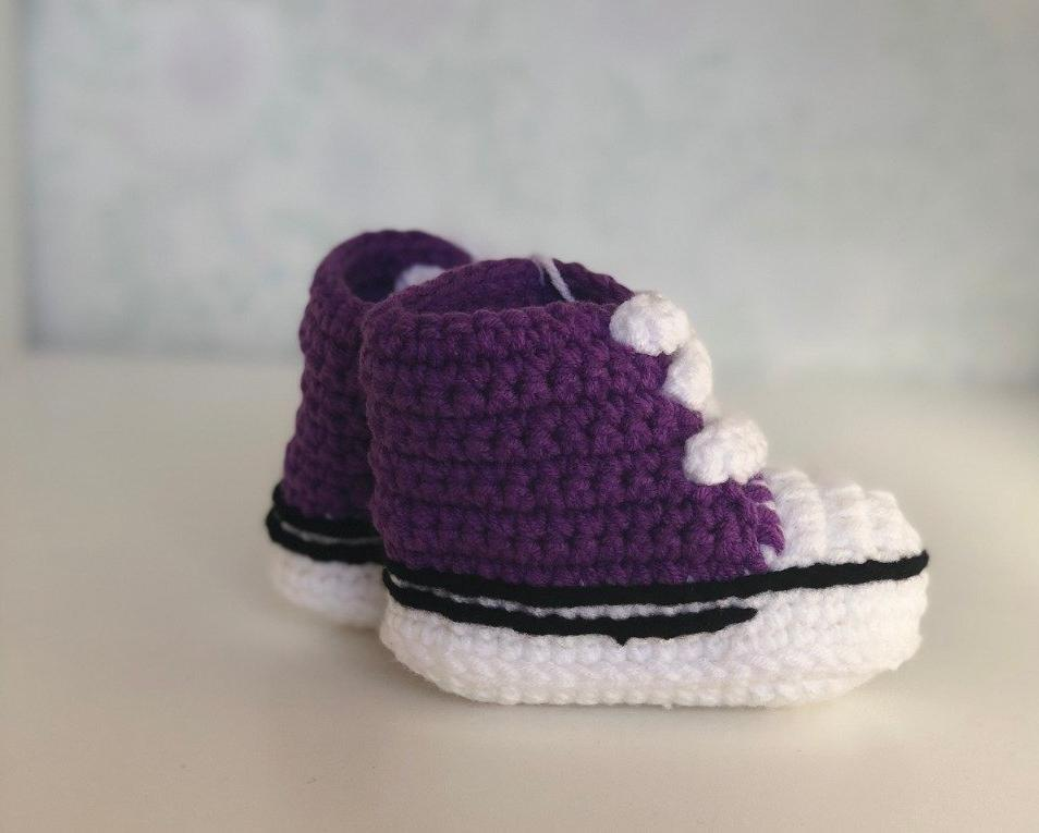 Purple Snug As Baby Shoes