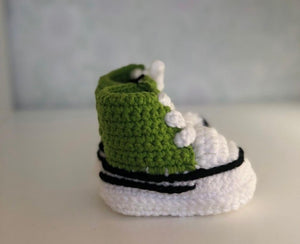 Green Snug As Baby Shoes