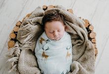 Load image into Gallery viewer, Deer - Snug As Baby Swaddle