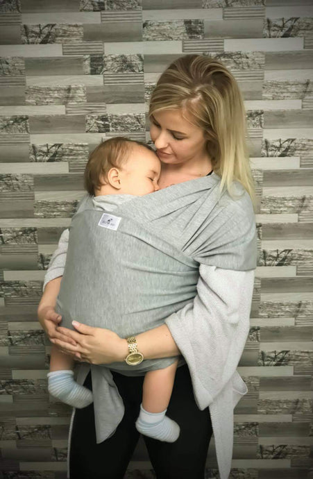 Light Grey Snug As Baby Wrap