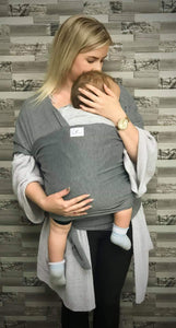Dark Grey Snug As Baby Wrap