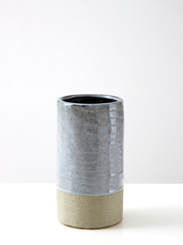 Skala Small Grey Vase - distressed vase