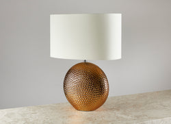 Oia Table Lamp - Bronze Ceramic